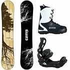 Camp Seven Roots CRC w/ LTX Rear Entry Bindings Men's Complete Snowboard package