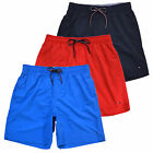 Tommy Hilfiger Mens Lined Bathing Suit Bottoms Swim Trunks Shorts Flag Logo New