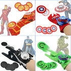 Superhero Launchers Gloves Cosplay Batman Weapon Boys Toys Kids Gifts