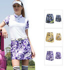 Fashion Womens Outdoor Sports Golf Running Vintage Floral Casual Skirts Skort