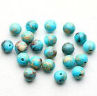 4/6/8/10mm Natural Stone Gemstone Round Spacer Charm Loose Beads Craft Jeweley