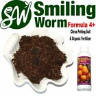 SMILING WORM F4 - Organic Potting Soil Mix + Charcoal for Dwarf Plum Fruit Tree