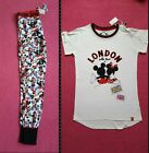 Primark Disney Mickey & Minnie Mouse Ladies Pyjamas Pj Set & Leggings