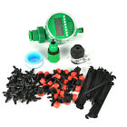 25m Manual/Automatic Drip Irrigation System Auto Timer Self Plant Watering Hose
