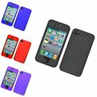 For Apple iPhone 4/4S Hard Rubberized Case Cover