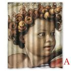 Michelangelo Paintings Custom Polyester Shower Curtains 60*x72* Inch
