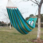 Heavy Duty Single Size Hammock Quilted Fabric Spreader Bar Outdoor Swing Bed NEW cheap