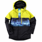 BOYS Burton Boys Symbol Surf Stripe 10K Snowboard JackeT NEW $149