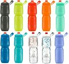 2017 Polar ZipStream 24oz Insulated Bike Cycling Sport Water Bottle Zip Stream