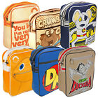 Danger Mouse Rainbow Shoulder Bags. Classic Kids TV Show Retro Cool Gift Him Her