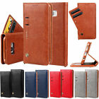 Luxury Flip Leather Wallet ID Card Stand Case Cover For iPhone 7 Samsung S8 Plus