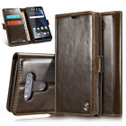 Luxury Leather Wallet Protective Phone Case Cover with Card Slots For LG V10