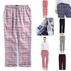 "TINFL Plaid Check Flannel Lounge Womens Long Pajama Pants ""PW"" 1-21Style S-XL"