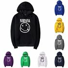 New Hot sell Fashion Nirvana printing Hooded sweatshirts coat hoodie Sportswear