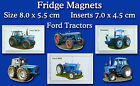 Fridge Magnets Ford Tractors