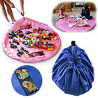 "60"" Children's Floor Play Mat In Portable Shoulder Bag Toddlers Kids Toy Storage"