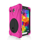 Hybrid Shockproof Stand Rugged Hard Case Cover For Samsung Galaxy Tab E 8.0 T377