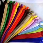 Внешний вид - 5-100pcs Nylon Invisible Soft tulle Coil Zippers Sewing 11/16/22inch