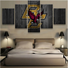 5 Panel BC Eagles New Boys Painting Printed Canvas Wall Art Picture Home Décor