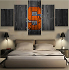 5 Pieces Syracuse Oranges Painting Printed Canvas Wall Art Picture Home Décor