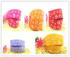 "new 2/ 5 /10yards  1"" 25mm  Printed  Grosgrain  Ribbon Hair Clips  Bow Cake Craf"