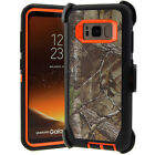 For Samsung Galaxy S8 / S8 Plus Defender Rugged Case (Clip Fits Otterbox) CAPIOR
