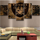 5 Pieces Raiders Painting HD Printed On Canvas Wall Art Picture Home Décor