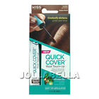 Kiss Colors Quick Cover Root Touch-Up Gray Coverage Hair Color Soft Mascara Tip