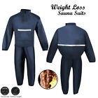 Sauna Suit Heavy Duty Sweat Track Weight loss Slimming Boxing Gym