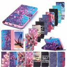 Folio Flip Leather Stand Card Wallet Magnetic Cover Case For Smart Mobile Phones