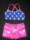 STUNNING LEOTARD/GYMNASTICS/DANCE - CROP SET - NEW - Girls   10, 12 !!!