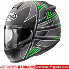 "Arai Chaser V ""Apache Green"" Was £399.99 - Now £289.99 (25% OFF!)"