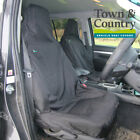 Volkswagen POLO Seat Covers, Town & Country Covers, Heavy Duty, 3DSFBLK MFRLBLK