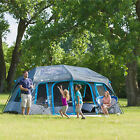 Ozark Trail 11-Person 3 Room Instant Cabin Family Tent Large Camping Outdoor Top