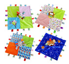 Baby Infant Boys Girls Colorful Security Soft Blanket Cloth Comforter Doll Toy