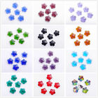 10pcs 14mm Glass Crystal Findings Charms Loose Spacer Beads Faceted Pendants