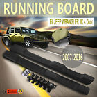 ABS Running Board Side Steps Nerf Bars For 4Door Jeep Wrangler 07-16 Get