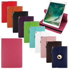 "For Apple iPad Pro 10.5"" 2017 Rotating Flip Folio Leather Stand Case Cover Skin"