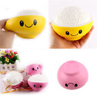 Slow Rising Squishy Squeeze Toys Smiley Rice In The Bowl Anxiety Stress Relief