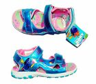 FINDING DORY NEMO DISNEY Girls Light-Up Sandals Shoes NWT Sz. 7, 9, 10 or 11 $35