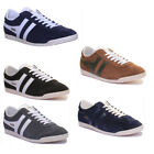 Gola Classics Bullet Grey Men Suede Leather Trainers