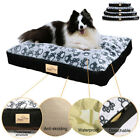 Waterproof Dog Bed Extra Large Washable Mat Jumbo Big Pet XXXL Faux Suede Plush