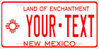New Mexico 1961 License Plate Personalized Custom Auto Bike Motorcycle Moped