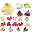 Toddler Newborn Infant Shoes Girl Soft Soled Princess Crib Shoes Prewalker 0-18M