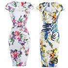 Fashion Womens Bodycon Pencil Cocktail Evening Ladies Summer Party Long Dress