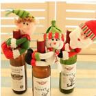 Christmas Xmas Gifts Cover Party Doll Ornaments Table Decoration Wine Bottle -S