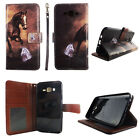 Folio Wallet Case For Samsung Galaxy J7 2016 Split Leather Card ID Slots Cover