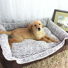 """Small Pet Bed Dog Cat Cushion Pad Soft Warm Kennel Puppy Mat Blanket 19""""*14"""""""