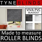 ROLLER BLINDS BLACKOUT Aquarius VIVA PVC - straight edge made to measure