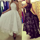 Women Formal Evening Party Cocktail Bridesmaid Wedding Gown Maxi Dress Dazzling